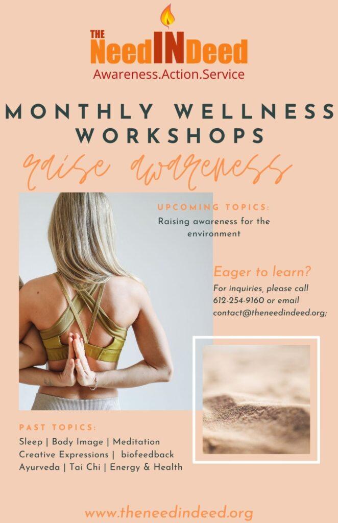wellness workshops with TheNeedIndeed