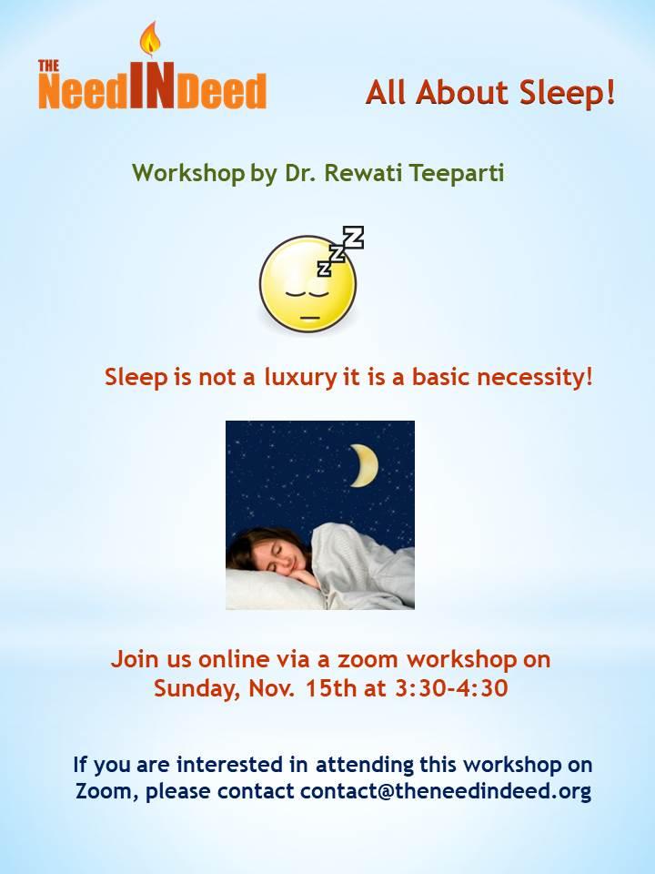 TNID wellness workshop 2020