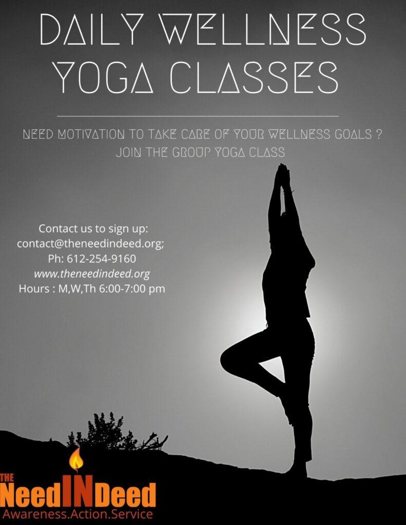 daily wellness yoga classes